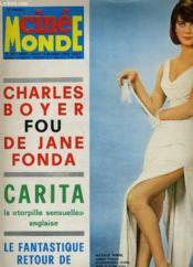 Cinemonde - N° 1671 - Charles Boyer Fou De Jane Fonda - Couverture - Format classique