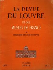 La Revue Du Louvre Et Des Musees De France - N°1 - Couverture - Format classique
