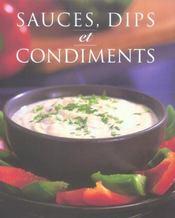 Sauces, dips et condiments - Intérieur - Format classique
