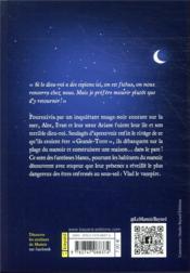 Le manoir - saison 1 T.6 ; Alec et le strigoi - 4ème de couverture - Format classique