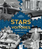 Voitures de stars ; années 1960-1970 - Couverture - Format classique