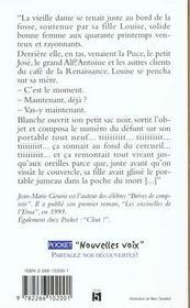 Eau Des Fleurs - 4ème de couverture - Format classique