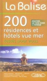 La balise ; 200 résidences et hotels vue sur mer testés pour vous - Couverture - Format classique
