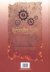 La Derniere Lignee T.1 ; La Traque - 4ème de couverture - Format classique