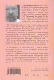 Cathedrale Des Trolls - 4ème de couverture - Format classique