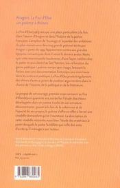 Aragon, le fou d'elsa : un poeme a theses - 4ème de couverture - Format classique