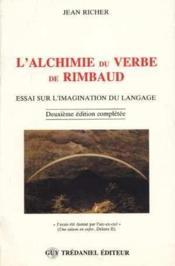 L'Alchimie Du Verbe De Rimbaud - Couverture - Format classique