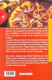 La cuisine des gourmands ; 85 recettes indispensables - 4ème de couverture - Format classique