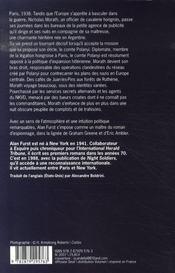 Le royaume des ombres - 4ème de couverture - Format classique
