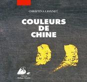Couleurs de Chine - Couverture - Format classique