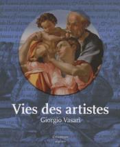 Vies des artistes - Couverture - Format classique