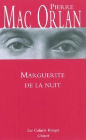 Marguerite de la nuit - Couverture - Format classique