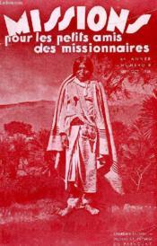 MISSIONS POUR LES PETITS AMIS DES MISSIONNAIRES, 6e ANNEE, N° 8, SEPT.-OCT. 1938 - Couverture - Format classique