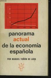 Panorama Actual De La Economia Espanola - Couverture - Format classique