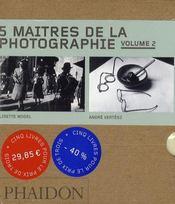 Coffret 55 : 5 maîtres de la photographie t.2 - Intérieur - Format classique