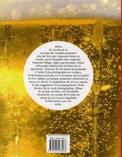 Bières du monde - 4ème de couverture - Format classique