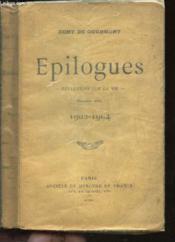 Epilogues - Reflexions Sur La Vie - (1902-1904). - Couverture - Format classique