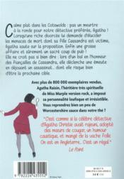 Agatha Raisin enquête T.15 ; entrez dans la danse - 4ème de couverture - Format classique