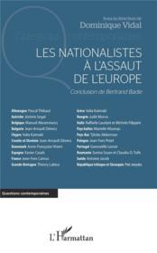 Les nationalistes à l'assaut de l'Europe - Couverture - Format classique