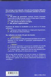 La Grammaire Anglaise Par Le Theme Maitriser 100 Difficultes Grammaticales Courantes - 4ème de couverture - Format classique