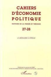 Le Liberalisme A L'Epreuve - Couverture - Format classique