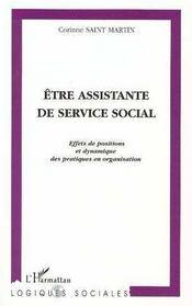 Être assistante de service social - Intérieur - Format classique