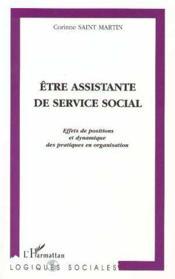 Être assistante de service social - Couverture - Format classique