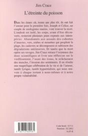 L'Etreinte Du Poisson - 4ème de couverture - Format classique