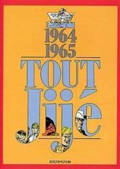 Tout Jijé t.11 ; 1964-1965 - Couverture - Format classique