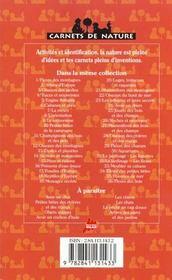 Meubler sa cabane - 4ème de couverture - Format classique