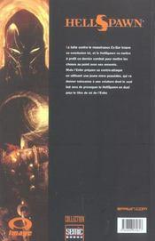 Hellspawn T.3 - 4ème de couverture - Format classique