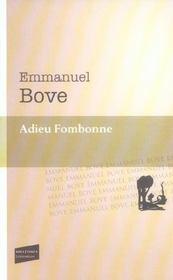 Adieu Fombonne - Intérieur - Format classique