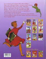 Lili t.10 ; Lili et la tarasque - 4ème de couverture - Format classique