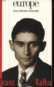 Revue Europe ; Franz Kafka - Couverture - Format classique