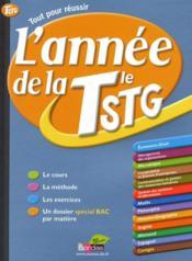 L'Annee De ; La Terminale Stg - Couverture - Format classique