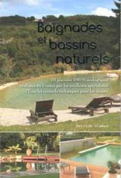 Baignades et bassins naturels - Couverture - Format classique