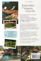 Baignades et bassins naturels - 4ème de couverture - Format classique