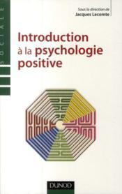Introduction à la psychologie positive - Couverture - Format classique