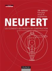 Neufert (édition 2010) - Couverture - Format classique
