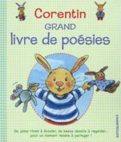 Corentin Grand Livre De Poesies - Couverture - Format classique