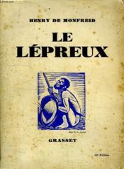Le Lepreux. - Couverture - Format classique