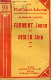 Fromont Jeune Et Risler Aine. Tome 4. Collection : Les Meilleurs Livres N° 157. - Couverture - Format classique