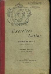 EXERCICES LATINS. 2e SERIE. 11e EDITION - Couverture - Format classique