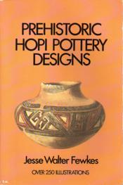 Prehistoric Hopi Pottery Designs - Couverture - Format classique