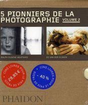 Coffret 55 : 5 pionniers de la photographie t.2 - Intérieur - Format classique