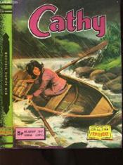Recueil Cathy 670 - Cathy N°169 : Une Expedition Mouvementee + N°170 : Le Manoir De L'Ile Aux Moines + N°174 : Agent Secret En Tutu - Couverture - Format classique