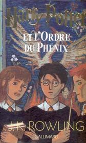 Harry Potter T.5 ; Harry Potter et l'ordre du phénix - Intérieur - Format classique