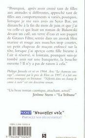 Nefertiti Dans Un Champ De Canne A Sucre - 4ème de couverture - Format classique