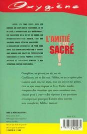 Amitie C'Est Sacre ! (L') - 4ème de couverture - Format classique