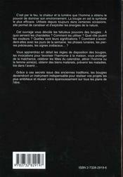 L'Extraordinaire Pouvoir Des Bougies - 4ème de couverture - Format classique